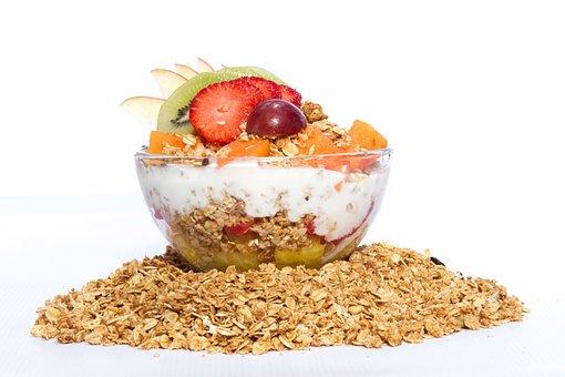 Cereal, Food, Healthy, Bowl, Oats, Dessert, Fruit