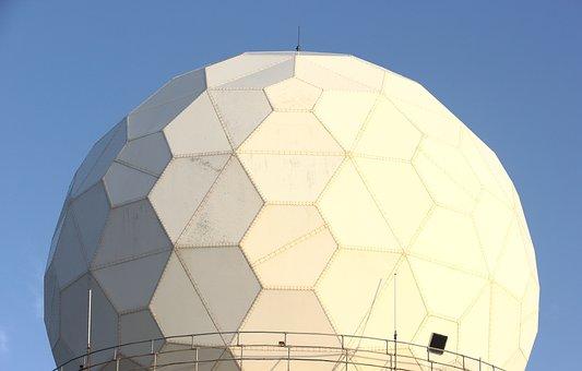 Malta, Radar, Dome, Geometric, Architecture, Outdoors