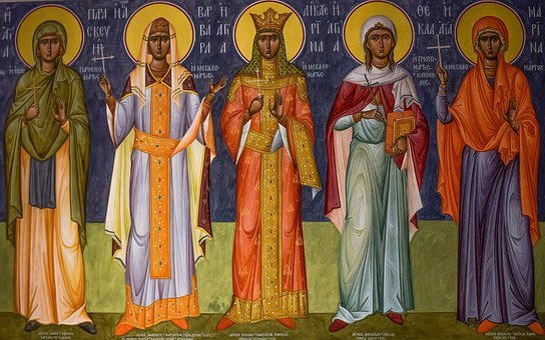 Religion, Iconography, Byzantine Style, Art, Saint
