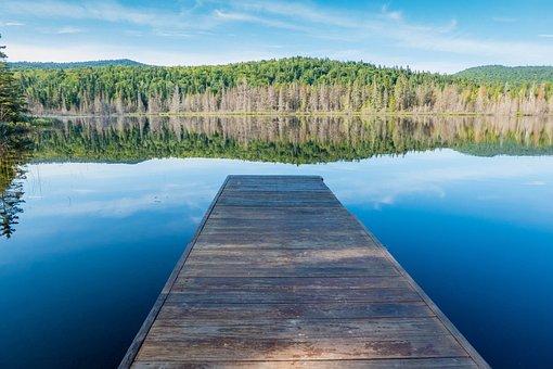Waters, Nature, Lake, Sky, Reflection, Wood, Travel