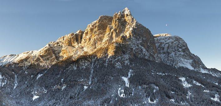 Schlern, Santner Peak, Mountain, Rock, Landscape