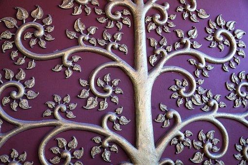 Ornament, Pattern, Floral, Art, Flower, Antique, Form