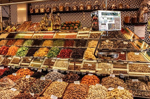 Sale, Market, Stock, Shop, Food, Assortment, Groceries