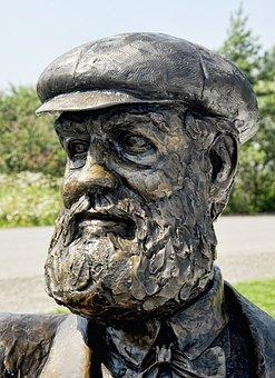 Alexander Graham Bell, Sculpture, Famous, Monument, Art