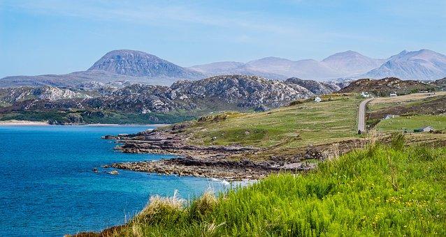 Nature, Water, Travel, Panorama, Sky, Scotland