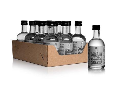 Stirling, Gin, Scotland, Glass, Alcohol, Drink, Spirit