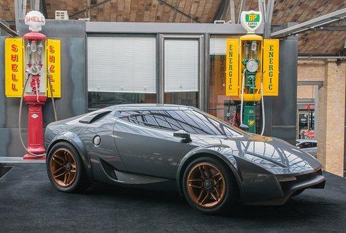 Auto, Lancia, Prototype, Sports Car, Vehicle