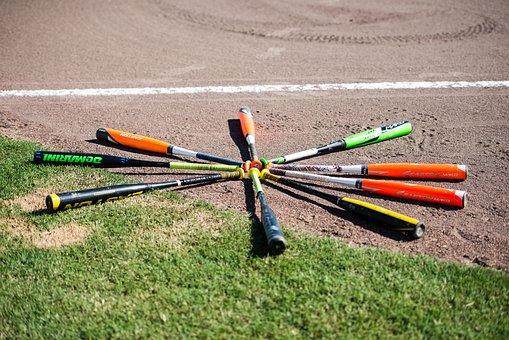 Baseball, Bats, Field