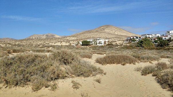 Nature, Landscape, Sky, Desert, Dry, Travel, Sand