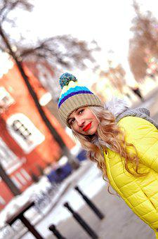 People, In The City, City ​​portrait, Hat Pompom