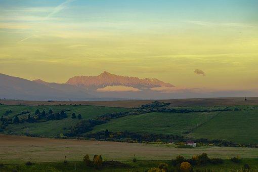 Kriváň, Slovakia, Liptov, Mountains, The Sky, Views