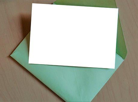 Paper, Blank, Empty, Message, Template, Document