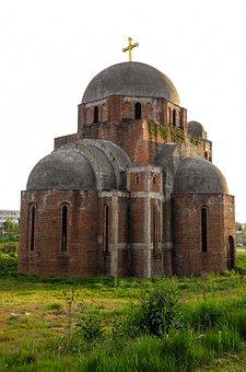 Architecture, Religion, Old, Kosovo, Serbia, Pristhina