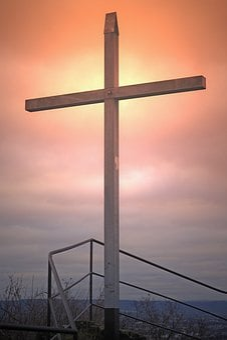 Cross, Sky, Resurrection, Summit Cross, Andernach, Eich
