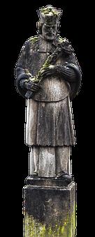 Sculpture, Statue, Nepomuk, Holy, Bridge Saint