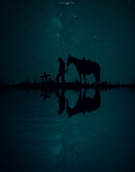 Silhouette, Backlit, Body Of Water