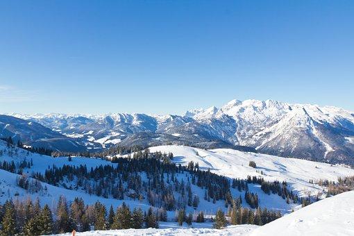 Snow, Panoramic, Panoramic Photo, Winter, Nature