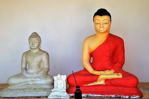 Buddha, Spiritual, Figurines, Sri Lanka, Meditation