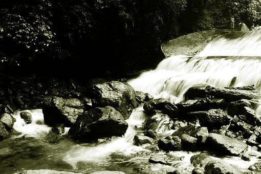 Water, Waterfall, River, Stream, Nature, Baler, Aurora