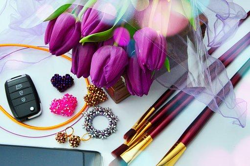Tulip, Bouquet, Pink Tulips, Tulip Bouquet