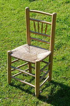 Chair, Old, Crafts, Wicker, Vogue