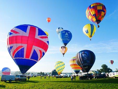 Bristol, Balloon Fiesta, Balloons, Hot Air Balloons