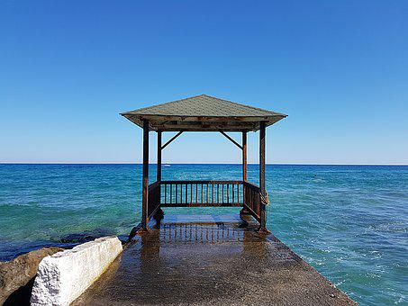 Sea, Beach, Coast, Ocean, Waters, Mediterranean, Crete
