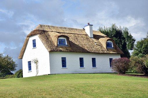 Home, Rush, Architecture, Grass, Ireland