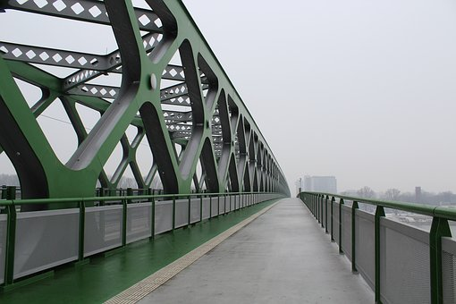 Bridge, Green, Slovakia, Old Bridge, Danube