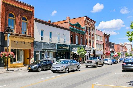 Road, Architecture, City, Travel, Canada, Ontario