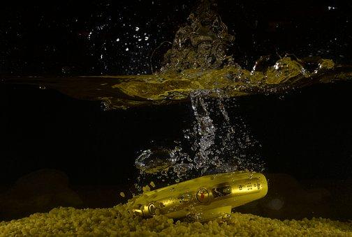 The Camera, Water, Camera, Zoom, Photo, Nikon