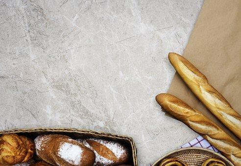Food, Desktop, Bakery, Aerial, Aerial View, Baguette