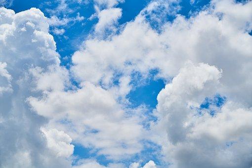 Cloud, Blue, White, Air, Clouds, White Clouds