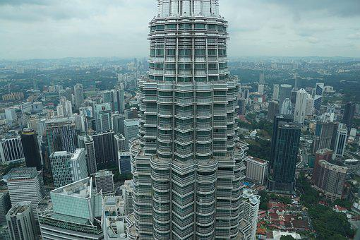 Skyscraper, City, Skyline, Architecture