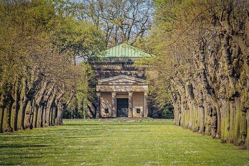Tree, Grass, Nature, Architecture, Avenue, Mausoleum