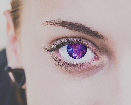 Eyelash, Portrait, Eyebrow, Mascara, Woman, Charm