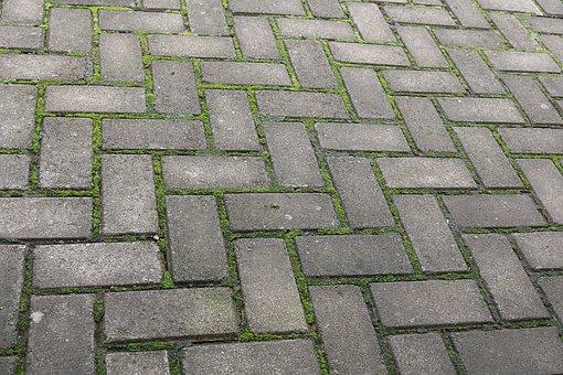 Pattern, Stone, Cobblestone, Cube, Footpath, Floor