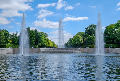 Waters, Fountain, River, Travel, Summer