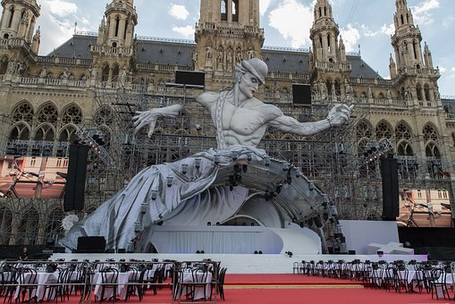 Architecture, Town Hall, Vienna, Life Ball, Downtown