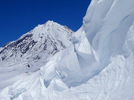 Koryaksky Volcano, Giant, Mountain, Nipple, Kamchatka