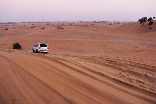 Adventure, Sand, Safaris, Desert, Car, Dry, Outdoors
