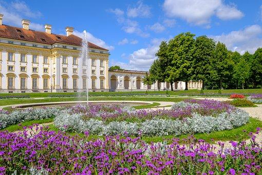 Garden, Architecture, Summer, Travel, Park, Castle