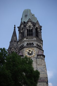 Ruin, Kaiser-wilhelm Memorial Church, Berlin