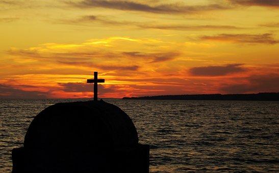 Sunset, Dawn, Sea, Dusk, Water, Sun, Evening, Sky