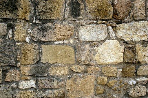 Stone, Wall, Brick, Cement