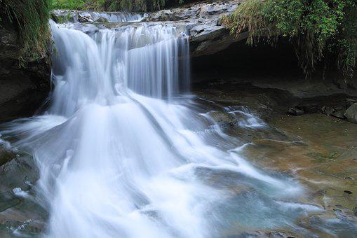 Falls, Waters, Nature, Flow