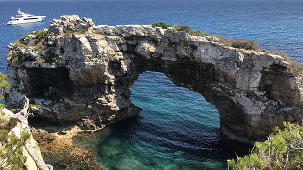 Water, Nature, Sea, Seashore, Travel, Mallorca