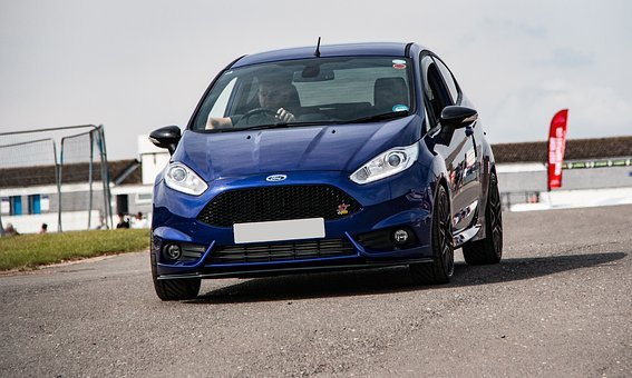 Ford Fiesta St, Ford, Fiesta, St, Blue, Hot Hatchback