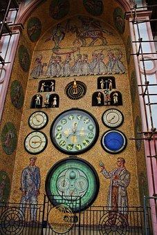 The Astronomical Clock, Olomouc, Monument, Architecture