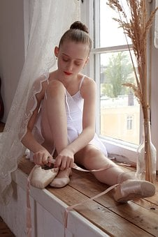 Ballerina, Ballet, Active, Balance, Exercise